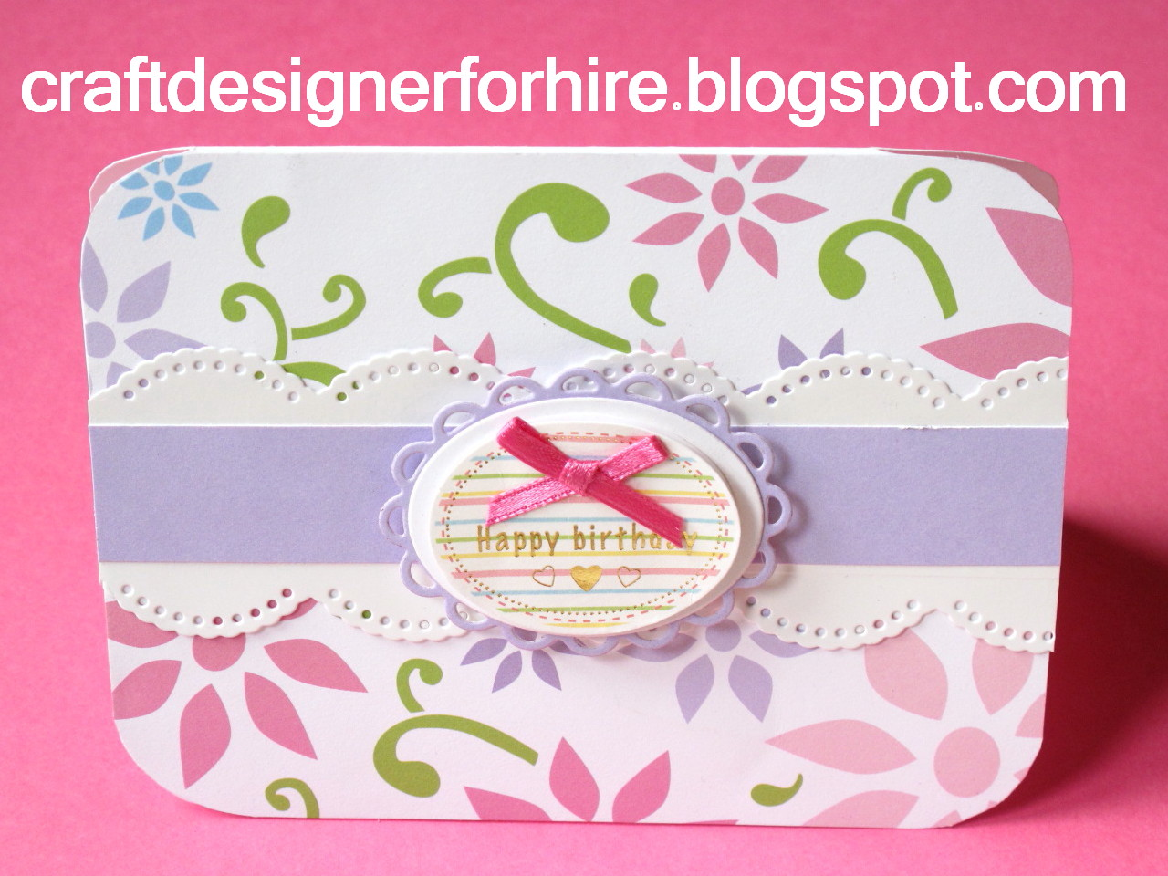 Birthday Card And Coordinating Gift Bag From Craft Designer Part 2 Designs By Eve Leder