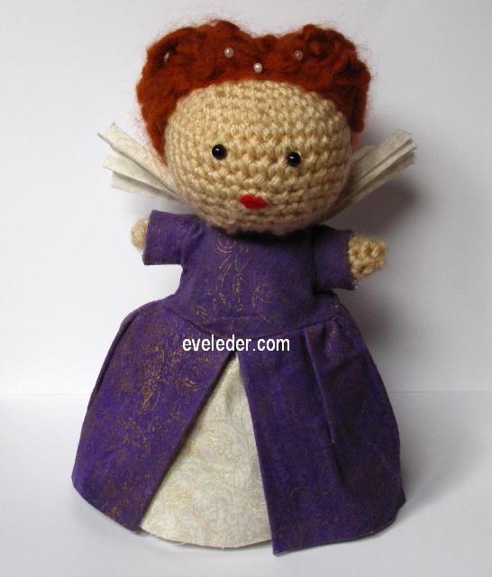 Amigurumi Queens : Queen Elizabeth I crochet amgirurumi http://eveleder.com