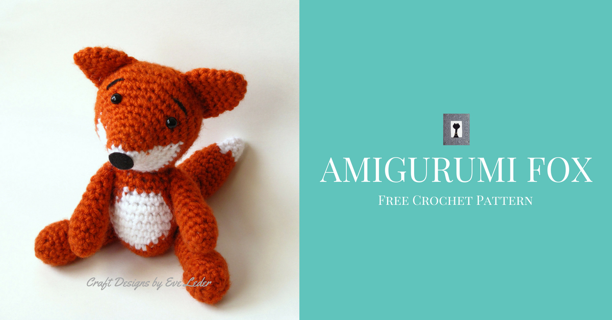 Amigurumi Fox | HappyBerry | 628x1200