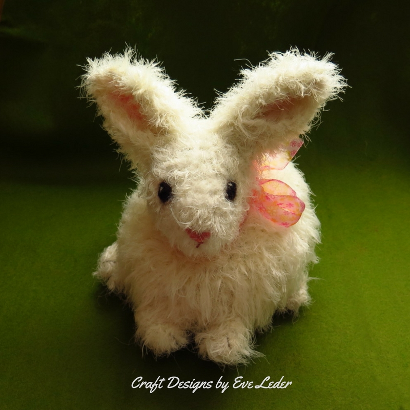 Realistic Bunny Crochet Pattern Craft Designs By Eve Leder Inspiration Crochet Rabbit Pattern