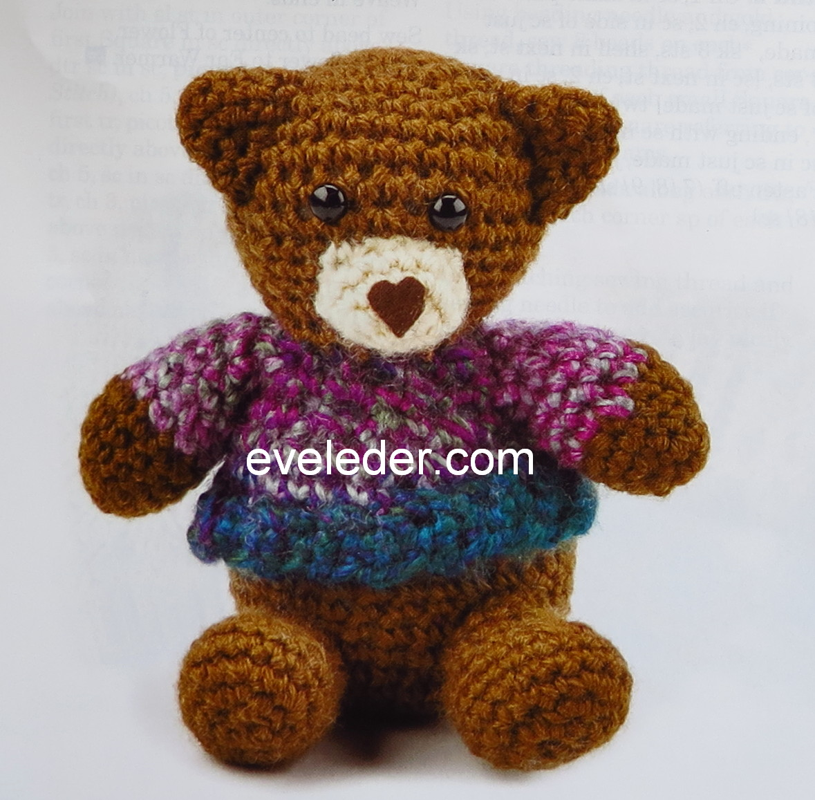 Teddy Bear Crochet Patterns With Clothes | The WHOot | 1157x1179